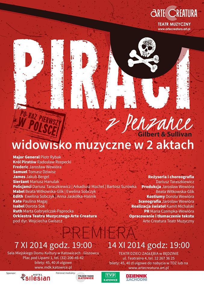 Piraci zPenzance plakat