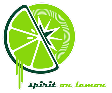 logo spirit on lemon