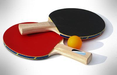 dwie paletki ping pong