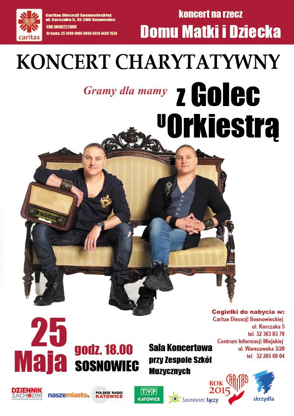 Koncert Charytatywny Caritas Golec uOkriestra