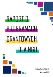 Raport programy grantowepng
