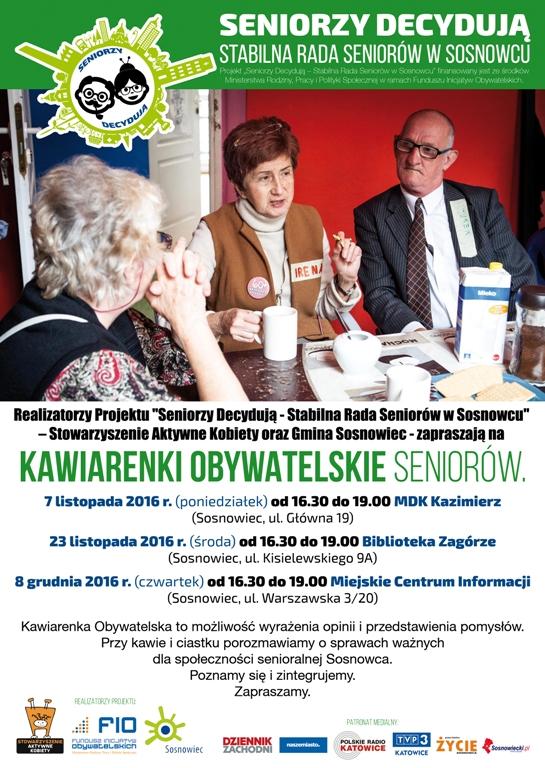 Plakat A2 Kawiarenki