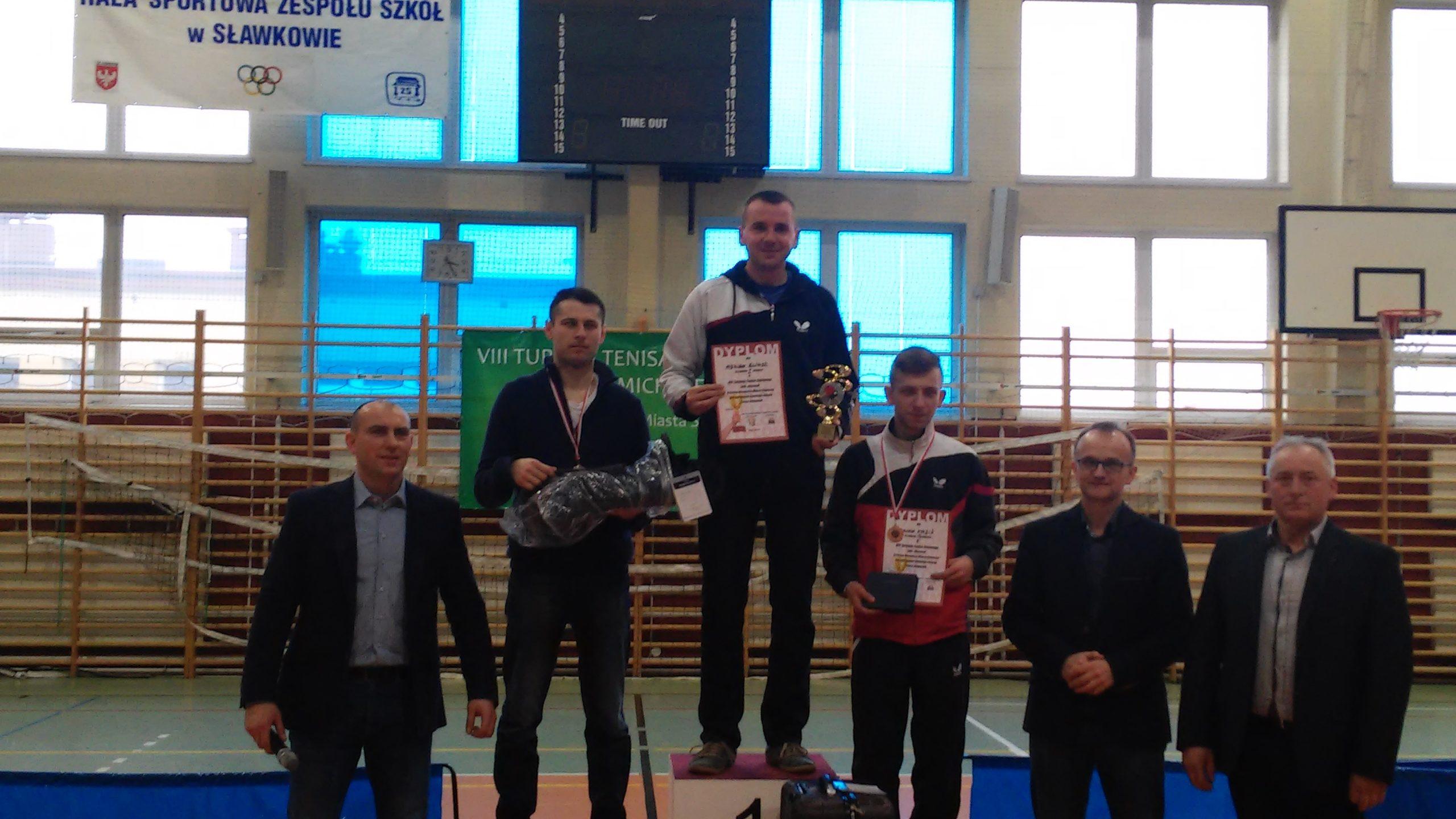 podium Open wSławkowie