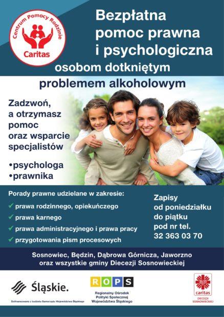 plakat Centrum pomocy Rodzinie
