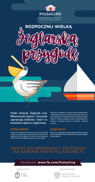 PolSailing Naborowe 2019 Plakat otwarty Plakat