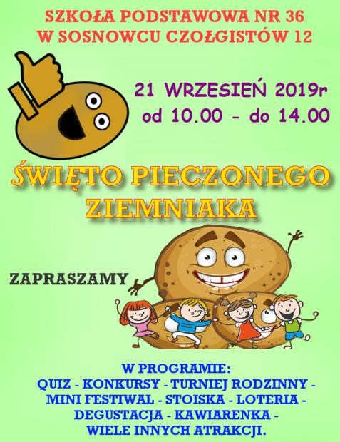 Plakat ziemniak 2019