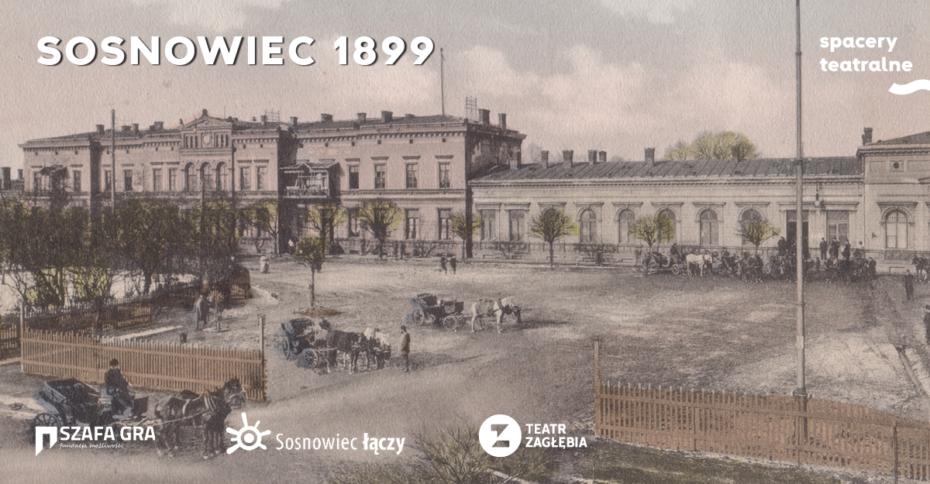 Sosnowiec 1899 grafika