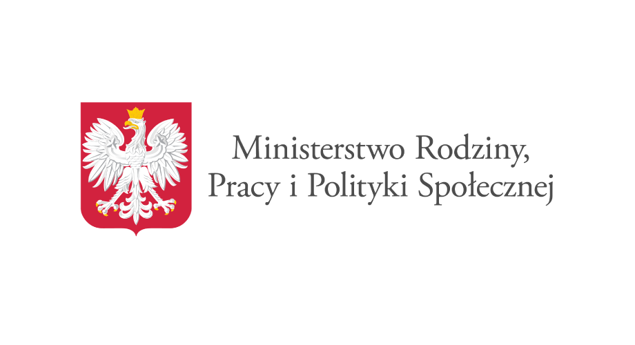 Logo Ministerstwa Rodziny, Pracy iPolityki Społecznej