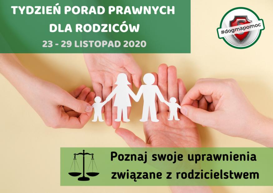 tydzień porad prawnych dla rodziców