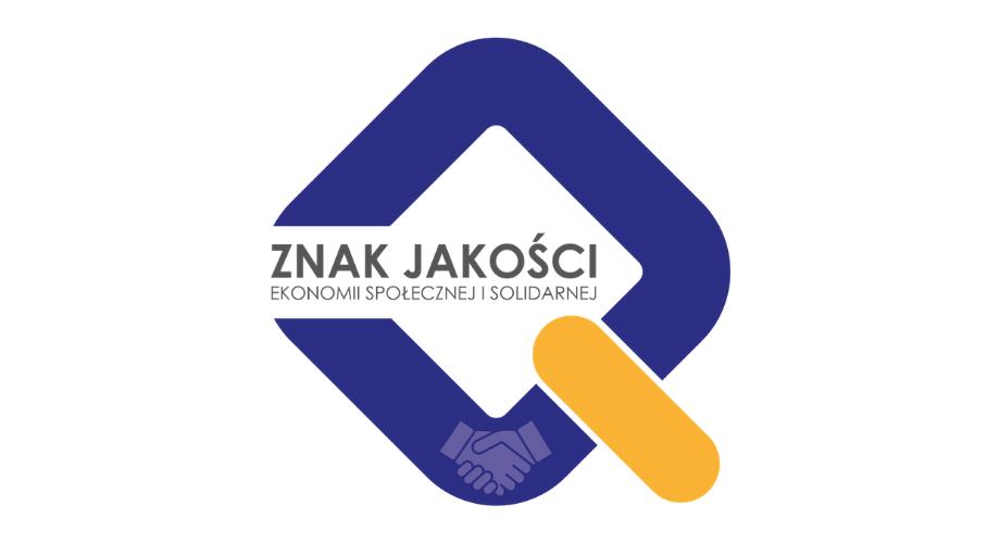 Logo Znak Jakości Ekonomii Społecznej iSolidarnej