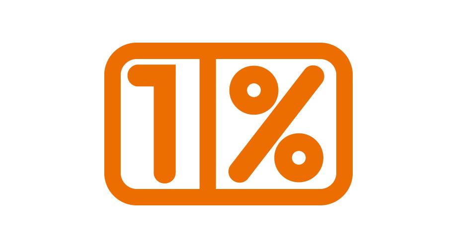 NGO 1%