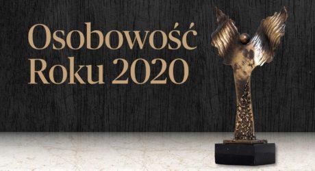 Osobowość roku 2020 statuetka
